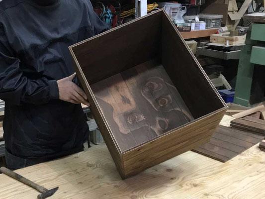 箱部分の完成