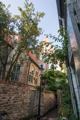 Bäckergang, Lübeck, Höfe, Innenhöfe