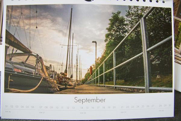 Kalenderansicht darkintolight