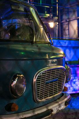 Ein DDR Bus gesehen auf dem Dom Hamburg