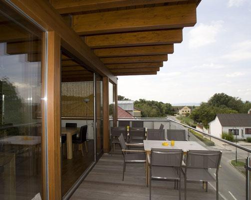 Vorhaus, Terrasse mit wunderschönem Seeblick