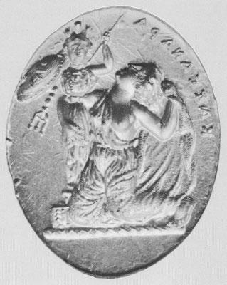 LIMC, Kassandra 2 =Athena 100