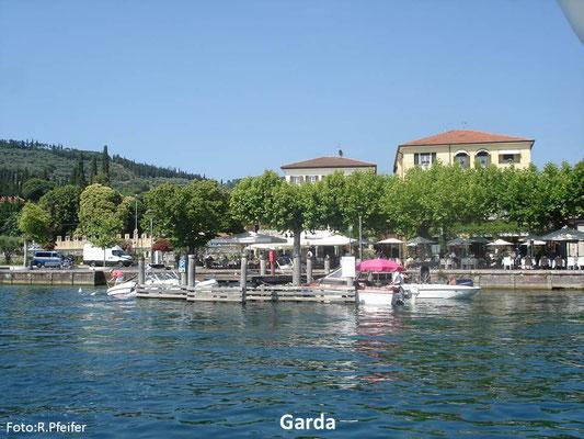 Hinweise für Boote am Gardasee Garda