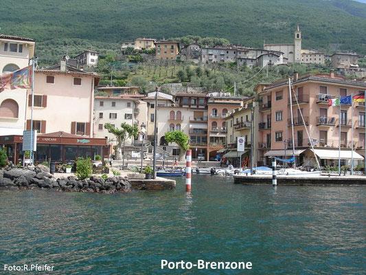 Hinweise für Boote am Gardasee Porto Brenzone