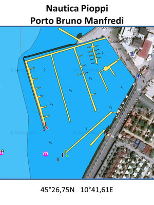 Porto Bruno Manfredi - Nautica Pioppi