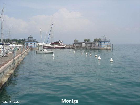 Hinweise für Boote am Gardasee Moniga