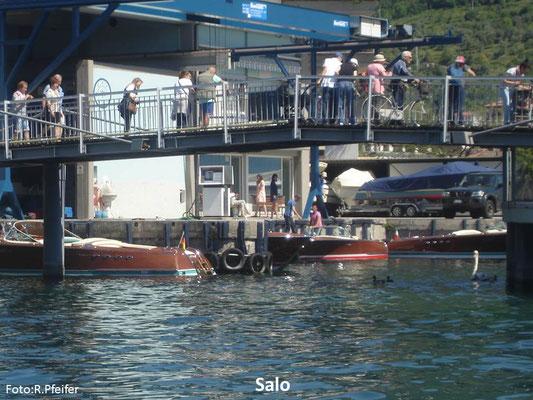 Hinweise für Boote am Gardasee Salo Nautica Arcangeli