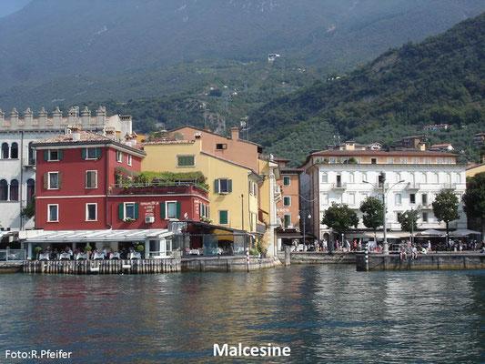 Hinweise für Boote am Gardasee Malcesine