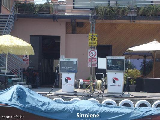Hinweise für Boote am Gardasee Sirmione Nautica Bisoli