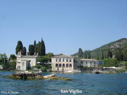 Hinweise für Boote am Gardasee San Vigilio