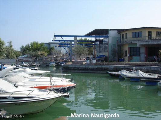 Hinweise für Boote am Gardasee Marina Nautigarda