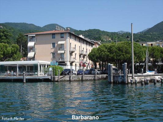 Hinweise für Boote am Gardasee Barbarano