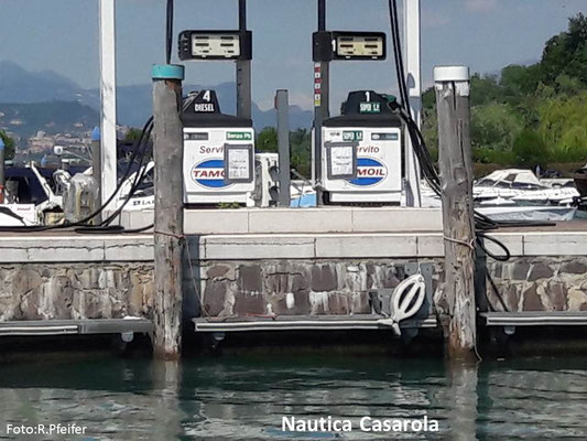 Hinweise für Boote am Gardasee Nautica Casarola