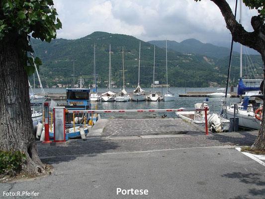 Hinweise für Boote am Gardasee Portese