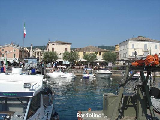 Hinweise für Boote am Gardasee Bardolino