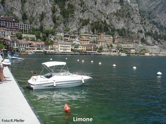 Hinweise für Boote am Gardasee Limone