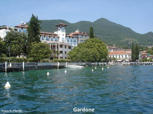 Hinweise für Boote am Gardasee Gardone