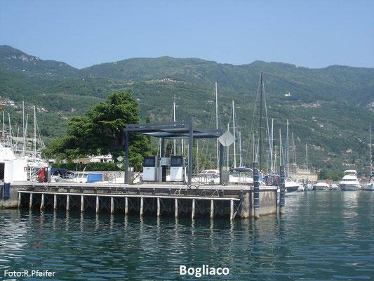 Hinweise für Boote am Gardasee Marina di Bogliaco