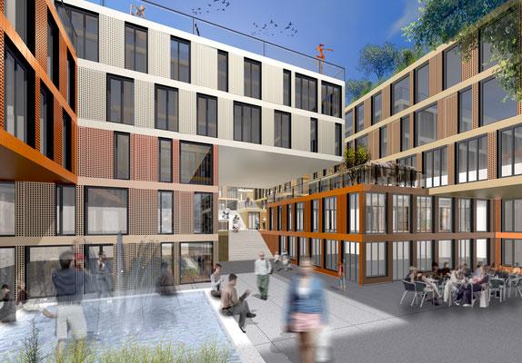 Wettbewerb Mischgebäude, Basel