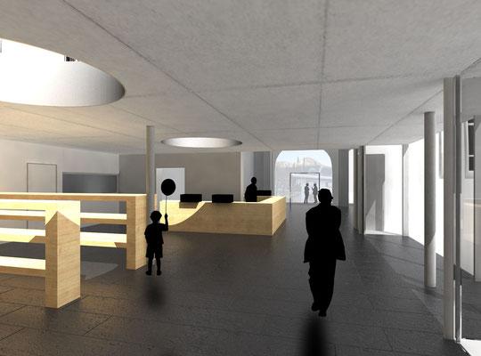 Wettbewerb, Klosterladen, Ettal, 3.Preis