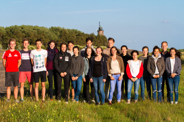 Gruppenfoto aus dem Trainingslager in St. Peter-Ording (Foto: RaceWalk Pictures - Philipp Pohle)
