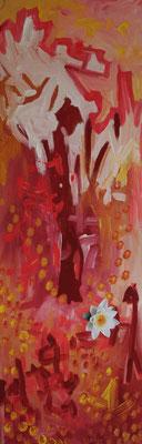 """""""Life"""" 140 x 45 cm, Acryl auf Holz"""