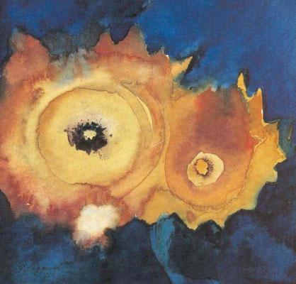 "Aquarell - ""Sonnenblume"""