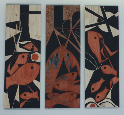 Fische-Triptychon