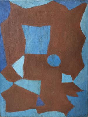Hansegger, abstrakte Malerei, um 1945