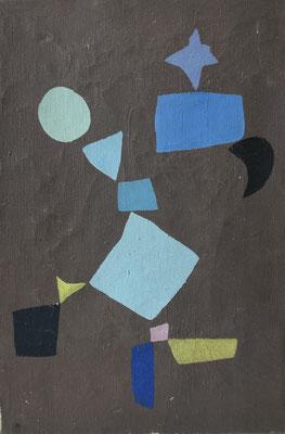 Hansegger, abstrakte Malerei, 1945