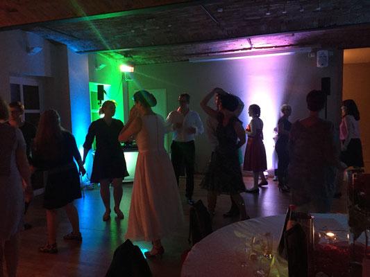 Hochzeitsparty in Leipzig