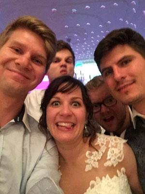 Hochzeitsselfie :)