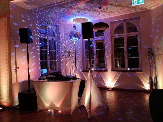 DJ für eine Hochzeit 2019 im Herrenhaus Möckern