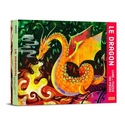 Livre Puzzle Le Dragon 100P - 18,90 €