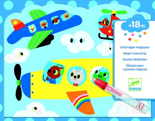"""<FONT size=""""5pt"""">Coloriages magiques Dans le ciel - <B>9,90 €</B> </FONT>"""