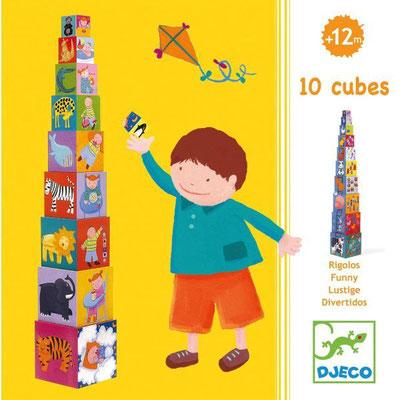 "<FONT size=""5pt"">10 Cubes rigolos - <B>15,90 €</B> </FONT>"