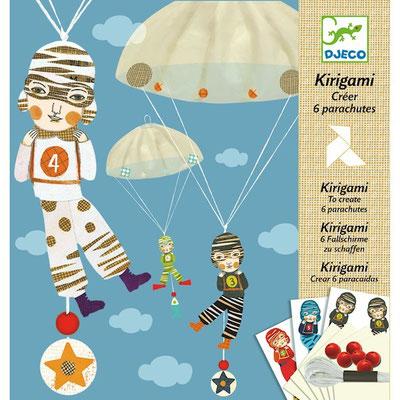 "<FONT size=""5pt"">Parachutes Kirigami - <B>8,50 €</B> </FONT>"
