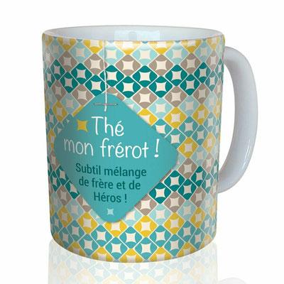 """<FONT size=""""5pt"""">Mug """"Frérot"""" - <B>12,00 €</B> </FONT>"""