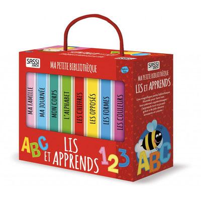 """<FONT size=""""5pt"""">Ma première bibliothèque Lis, apprends - <B>16,90 €</B> </FONT>"""