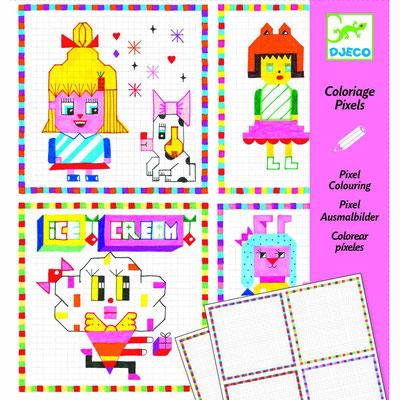 "<FONT size=""5pt"">Coloriage pixels Lili Scratchy - <B>4,50 €</B> </FONT>"