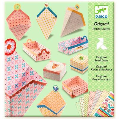"""<FONT size=""""5pt"""">Petites boites Origami - <B>6,00 €</B> </FONT>"""