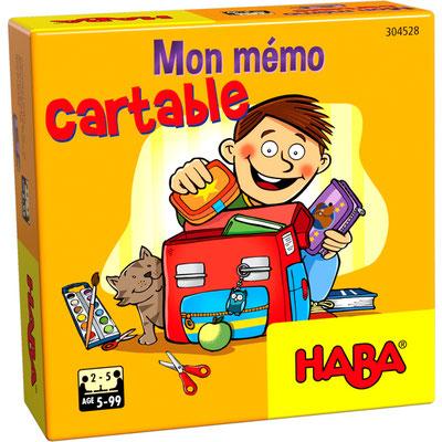"""<FONT size=""""5pt"""">Mon mémo cartable - <B>6,00 €</B> </FONT>"""