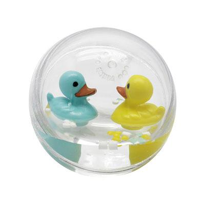 """<FONT size=""""5pt"""">Bulle d'eau bébé canard 7cm  - <B>7,50 €</B> </FONT>"""