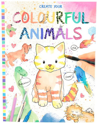"""<FONT size=""""5pt"""">Create your colourful animals - <B>6,50 €</B> </FONT>"""