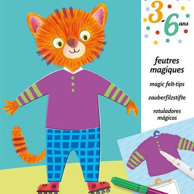 "<FONT size=""5pt"">10 Feutres magiques - <B>6,00 €</B> </FONT>"