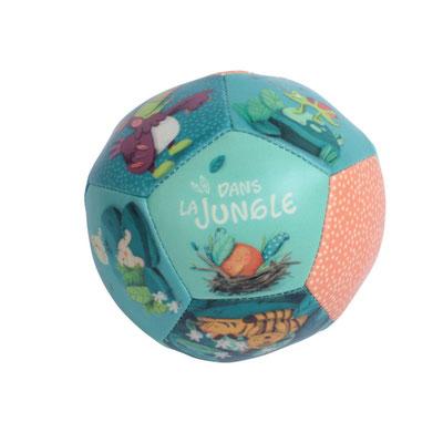 """<FONT size=""""5pt"""">Ballon Souple Dans la jungle  - <B>7,90 €</B> </FONT>"""