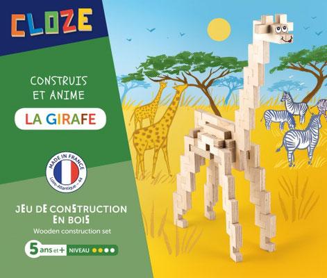 """<FONT size=""""5pt"""">Kit créatif Girafe - <B>19,50 €</B> </FONT>"""