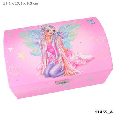 Boite à bijoux Fantasy Rose - 13.95 €