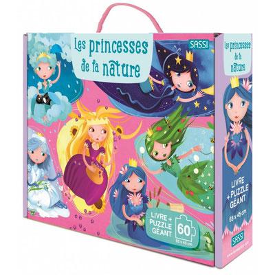 Livre-Puzzle Les Princesses de la nature 100P * 17,90 €