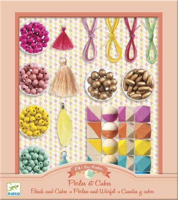 """<FONT size=""""5pt"""">Perles et cubes - <B>15,90 €</B> </FONT>"""